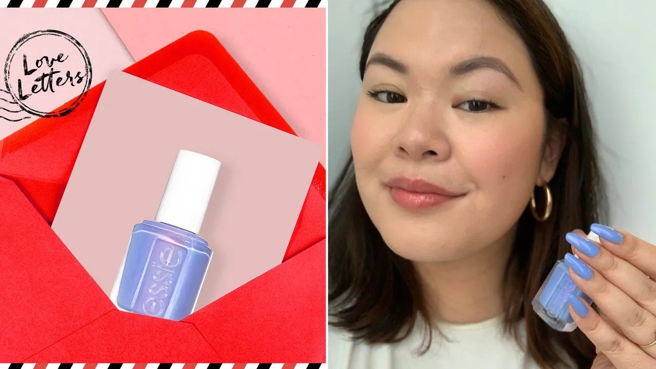 Essie You Do Blue Nail Polish Editor Review | Love Letters Series