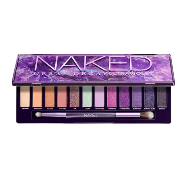 Urban Decay Naked Ultraviolet Palette on white background