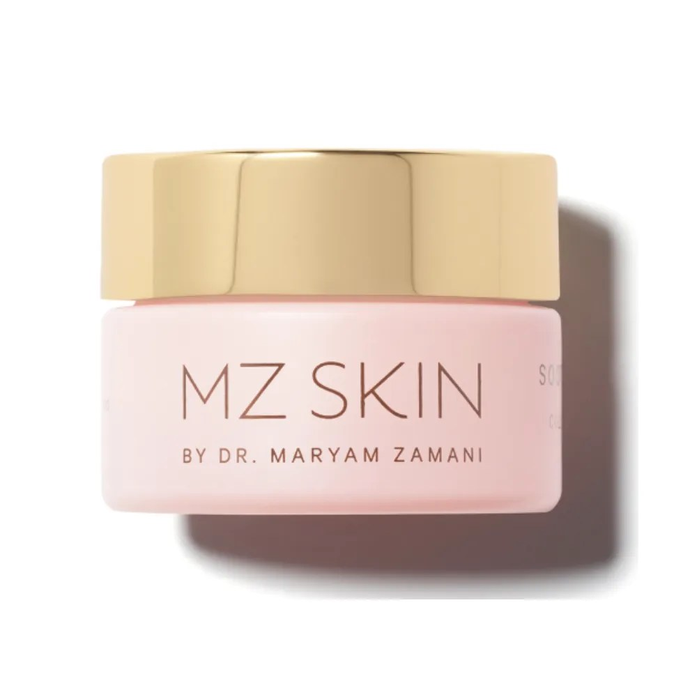 MZ Skin Soothe & Smooth Collagen Activating Eye Complex on white background