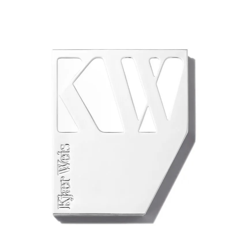 Kjaer Weis Cream Blush Compact on white background