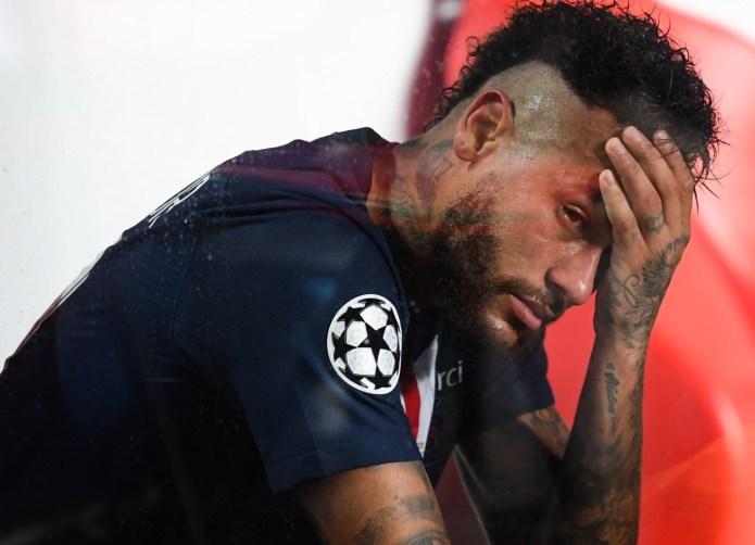 Neymar after facing Bayern Munich last year