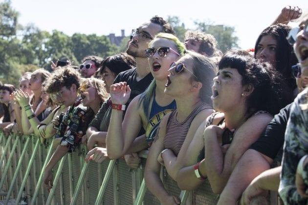 Riot Fest 2018 Sat Crowd