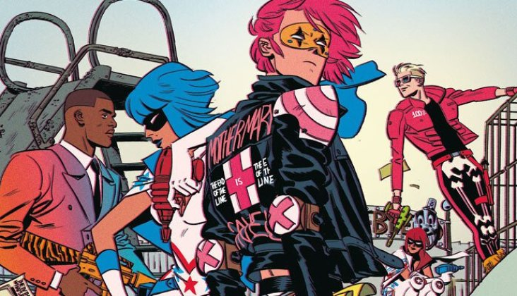 New Killjoys series 'National Anthem' | Gerard Way & Shaun Simon comics