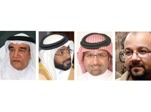 مهدي سلمان-راشد الجاسم-إبراهيم الحادي-منصور سرحان