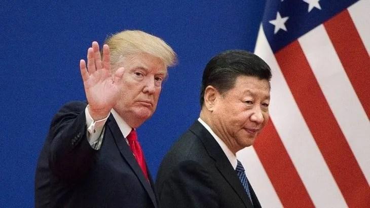 <p>Donald Trump y Xi Jinping.</p>