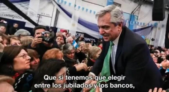 Alberto Fernández lanzó su nuevo spot de campaña.