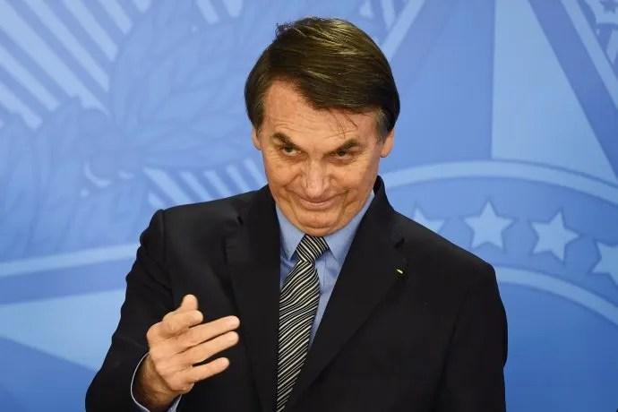 <p>Jair Bolsonaro.</p>
