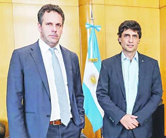 Guido Sandleris y Hernán Lacunza.