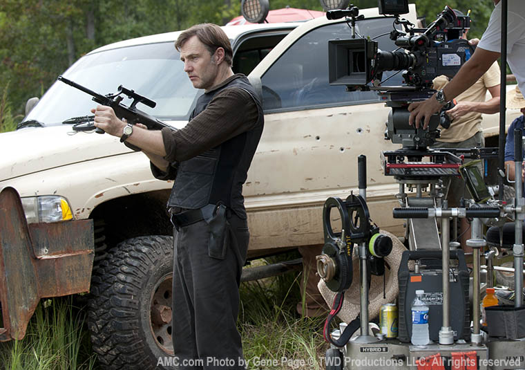 The Walking Dead Season 3 Behind the Scenes Photos