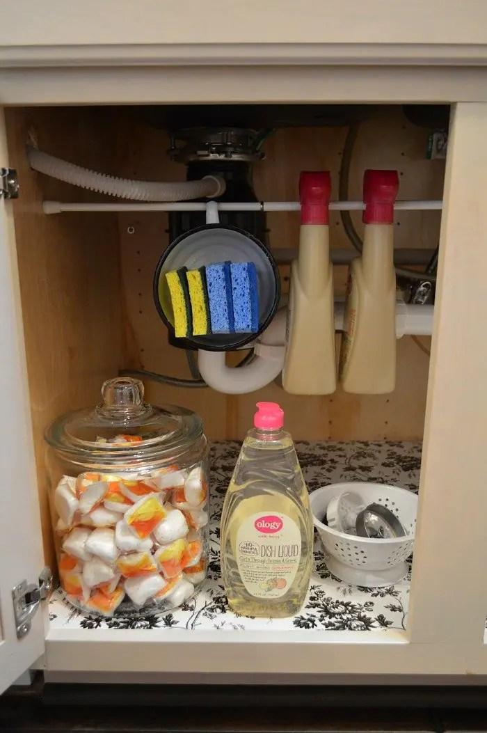 kitchen cabinet under your sink