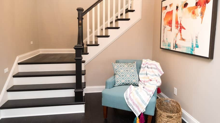 How Much Does Building Stairs And Railings Cost Angie S List | Average Price To Carpet Stairs | Stair Case | Hardwood Stairs | Flooring | Hardwood Flooring | Measure