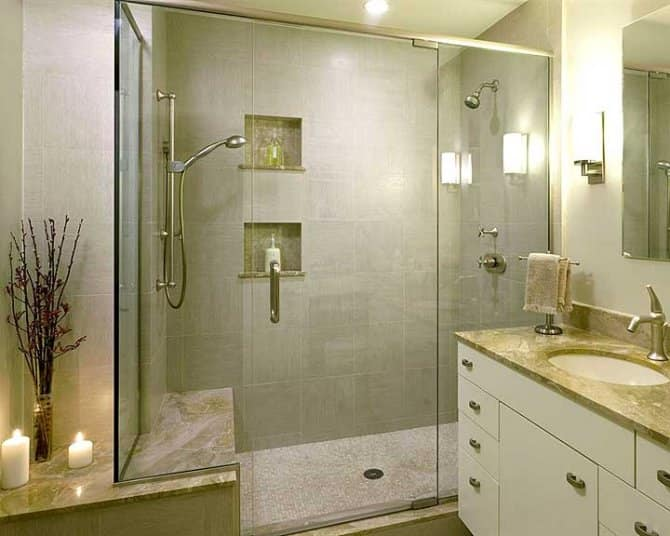 Walk In Shower With Multiple Shower Heads Angies List