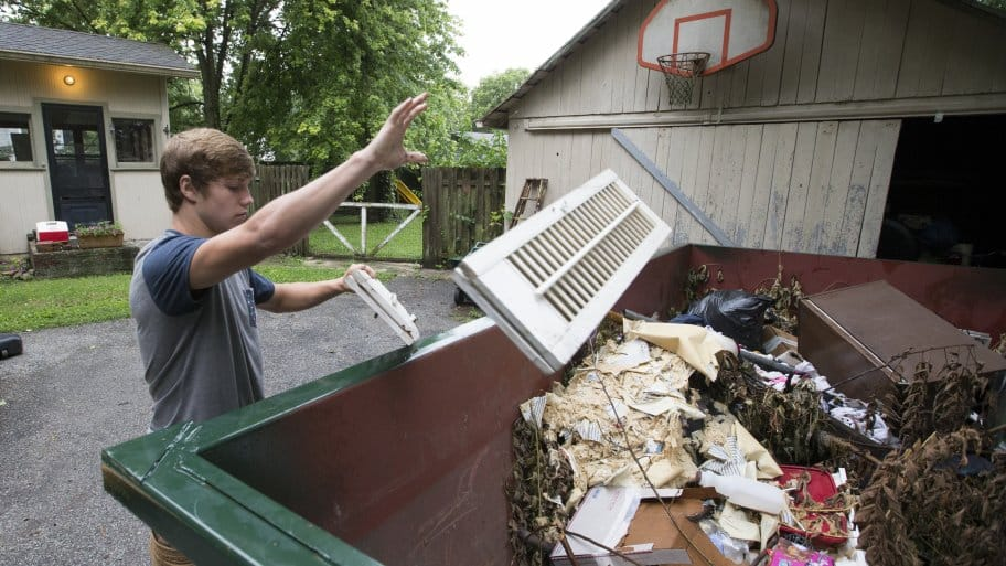 Dumpster Rental Vs Junk Removal Pros And Cons Angies List
