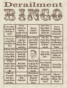not all men derailment bingo