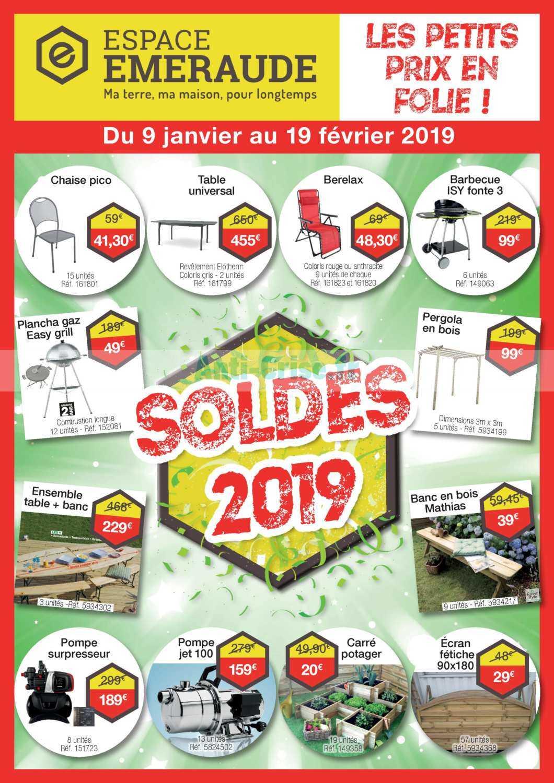 Espace Emeraude Le Nouveau Catalogue Du 09 Janvier Au 19 Fevrier 2019 Est Disponible Voici Les Dernieres Promos A Ne Pas Manquer