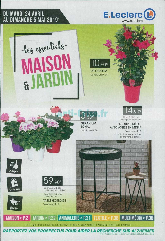 salon de jardin leclerc catalogue 2019