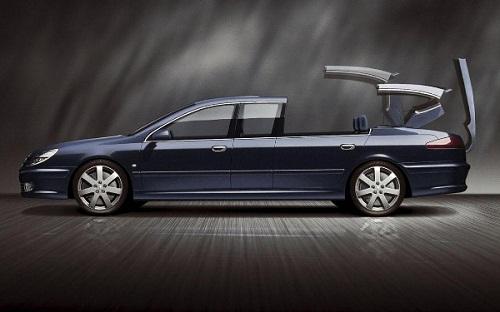 Pháp – Peugeot 607 Paladine