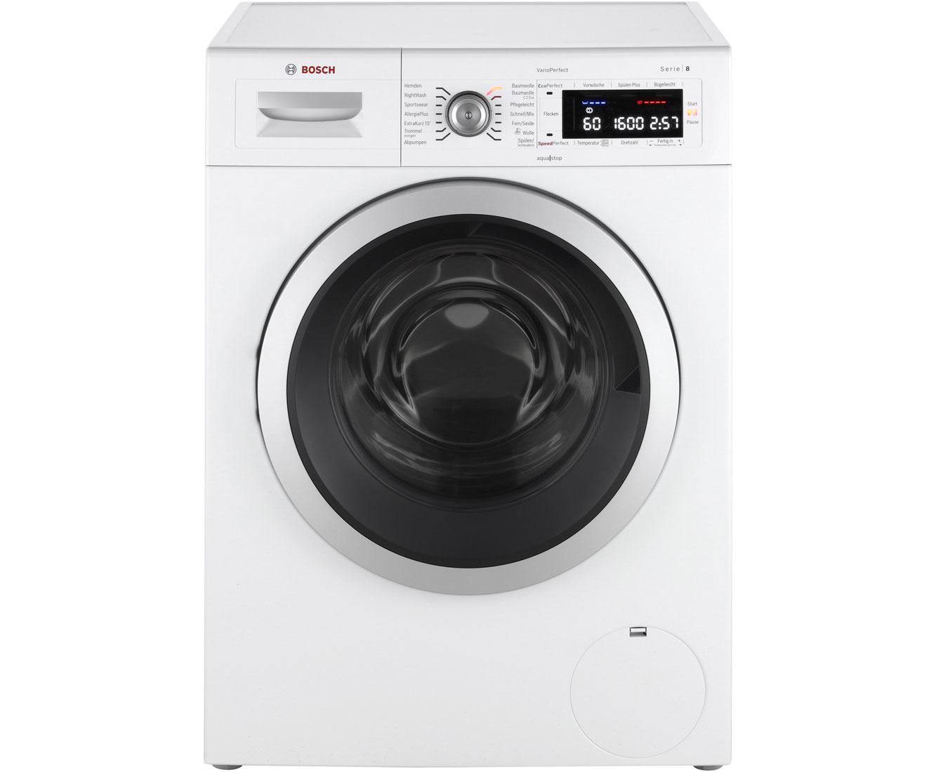 Bosch Serie 8 Waschmaschine Waw32541 Frontlader Ao De