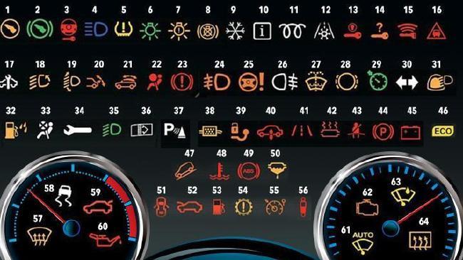 mitsubishi fuso warning light symbols | Adiklightco