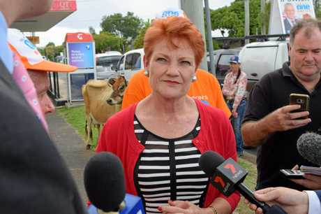 Senator Pauline Hanson has used her political prominence to draw attention to issues around CQ.