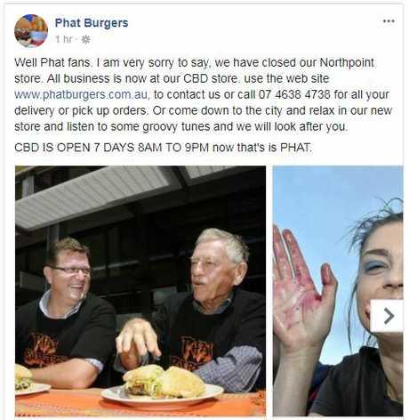The post to social media that had burger loving crying.