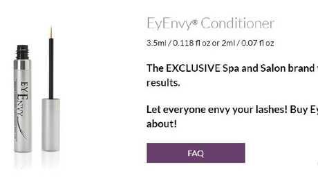 EyEnvy is another popular brand of eyelash growth serum.