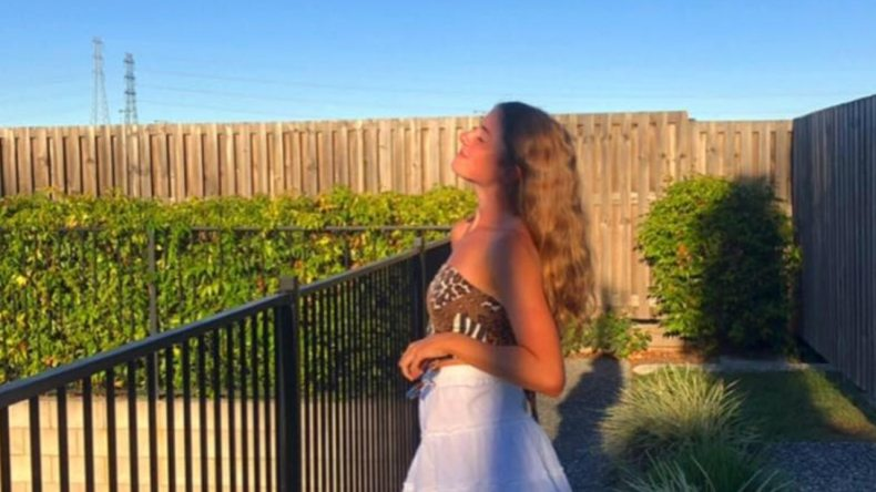 Genesis Christian College student Alyssa Postle has died after a tragic car crash at Bray Park Tuesday night. Picture: Facebook.
