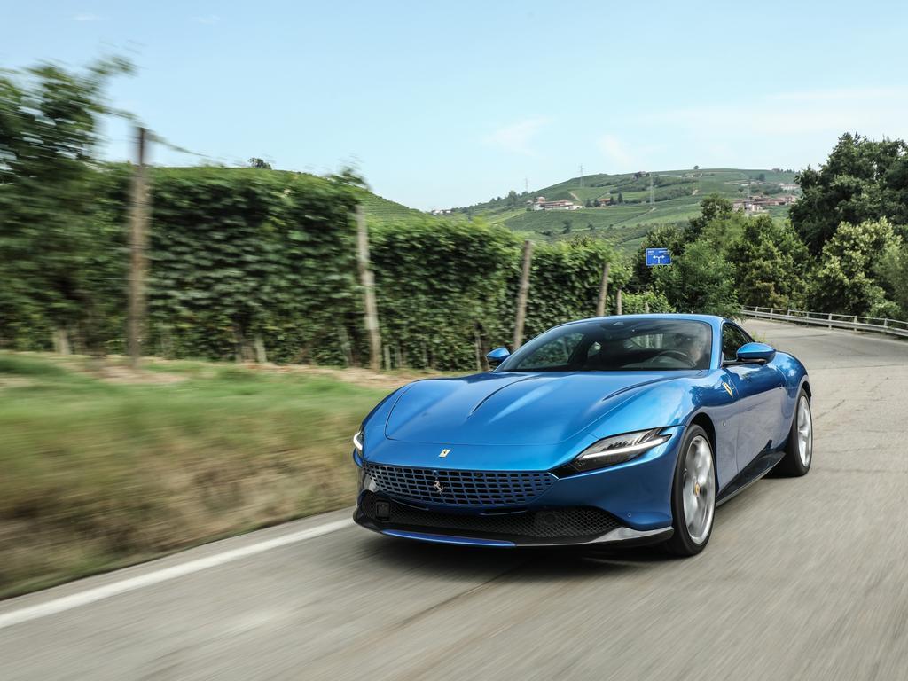 The Gold Coast loves its fast supercars like the Ferrari.