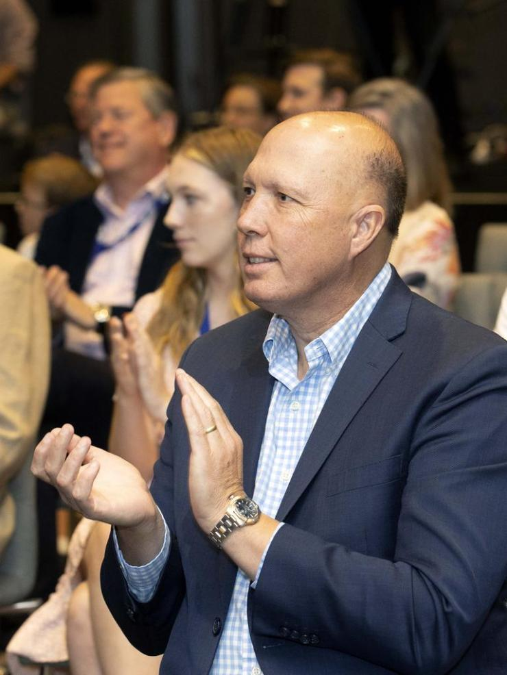 Home Affairs Minister Peter Dutton. NCA NewsWire / Sarah Marshall
