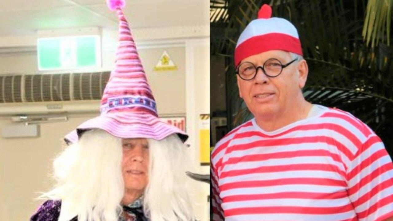 Where's that wizard of school head Pat? Right beside Coolum's loveable Wally.