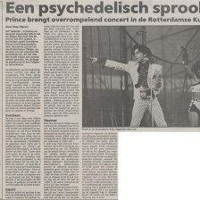 Prince - Lovesexy Tour - Trouw 19-08-1988 (apoplife.nl)