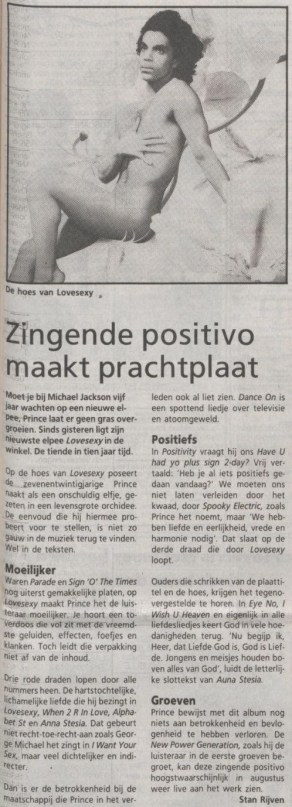 Prince - Lovesexy recensie - Trouw 11-05-1988 (apoplife.nl)
