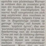 Prince - Come recensie - Limburgs Dagblad - 01-09-1994 (apoplife.nl)