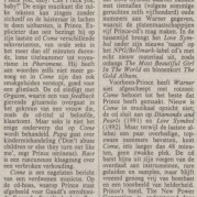 Prince - Come recensie - NRC Handelsblad - 15-08-1994 (apoplife.nl)