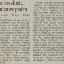 Prince - Graffiti Bridge recensie - Leeuwarder Courant 12-10-1990 (apoplife.nl)