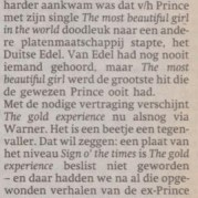 Prince - The Gold Experience recensie - Parool 05-10-1995 (apoplife.nl)