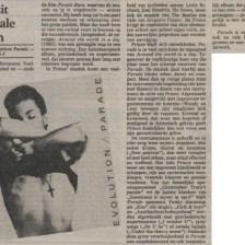 Prince - Parade recensie - Volkskrant 11-04-1986 (apoplife.nl)