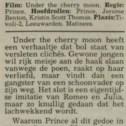 Prince - Under The Cherry Moon recensie - Leeuwarder Courant 10-10-1986 (apoplife.nl)