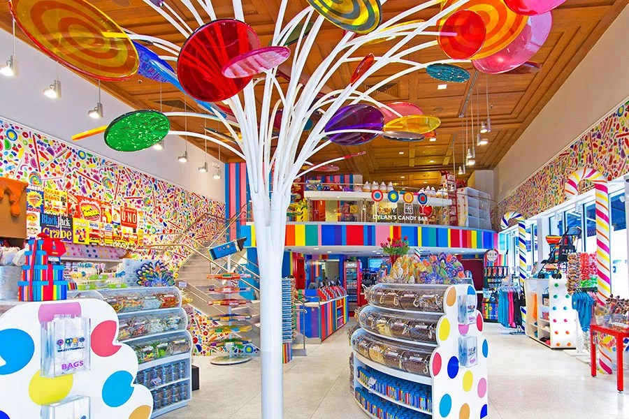 The Best Candy Stores In The World 11 Beautifully Designed Candy Shops Photos Architectural