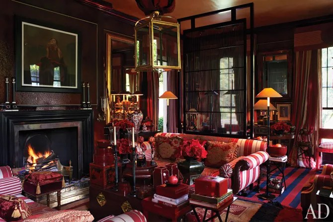 Anouska Hempels English Country House Architectural Digest