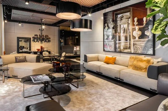 Luxury Living And Fendi Casa Launch A Chic New York Showroom Architectural Digest