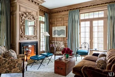 10 rooms that take wood paneling to the