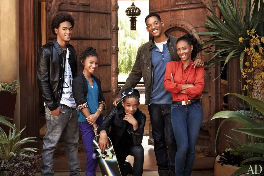 Image result for will smith and family 2015