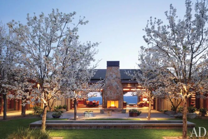 Interior California Wine Country Weekend Retreat Remodel Architecture Pictures And Images