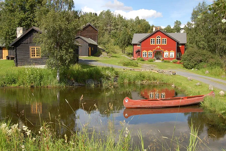 A Norwegian Farmhouse Is On The Market Architectural Digest