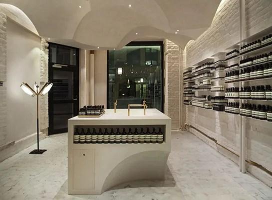 Aesop Interior Design