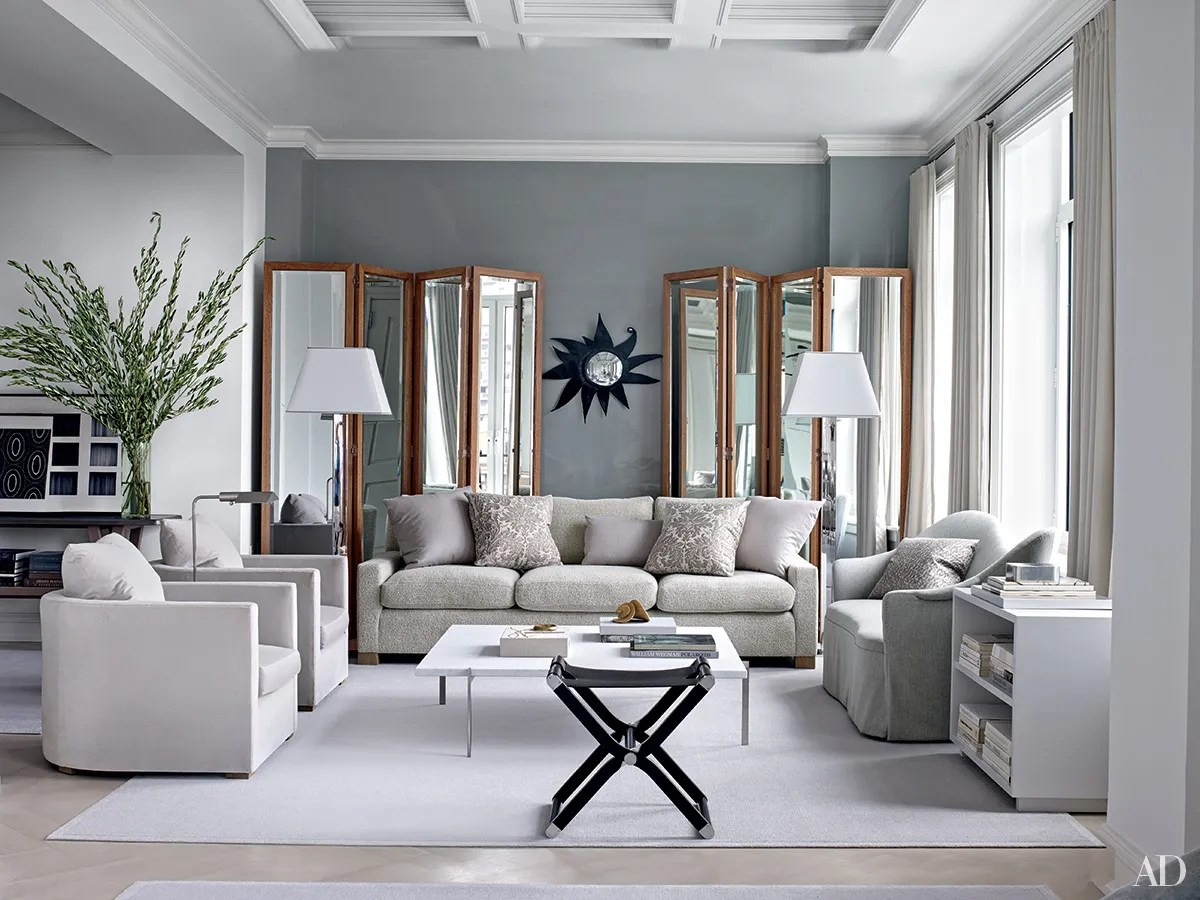 Inspiring Gray Living Room Ideas Photos Architectural Digest Part 60
