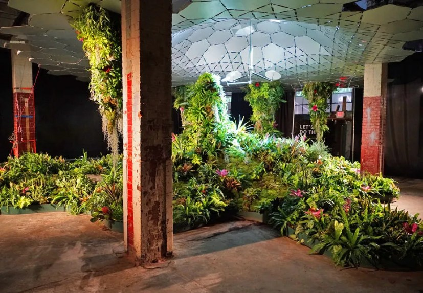 Currently under construction in New York's Lower East Side neighborhood, the Lowline is the world's first underground park. The project's goal is to convert a former trolley terminal into a park with plants fed by solar technology. The Lowline is scheduled to be completed in 2021.