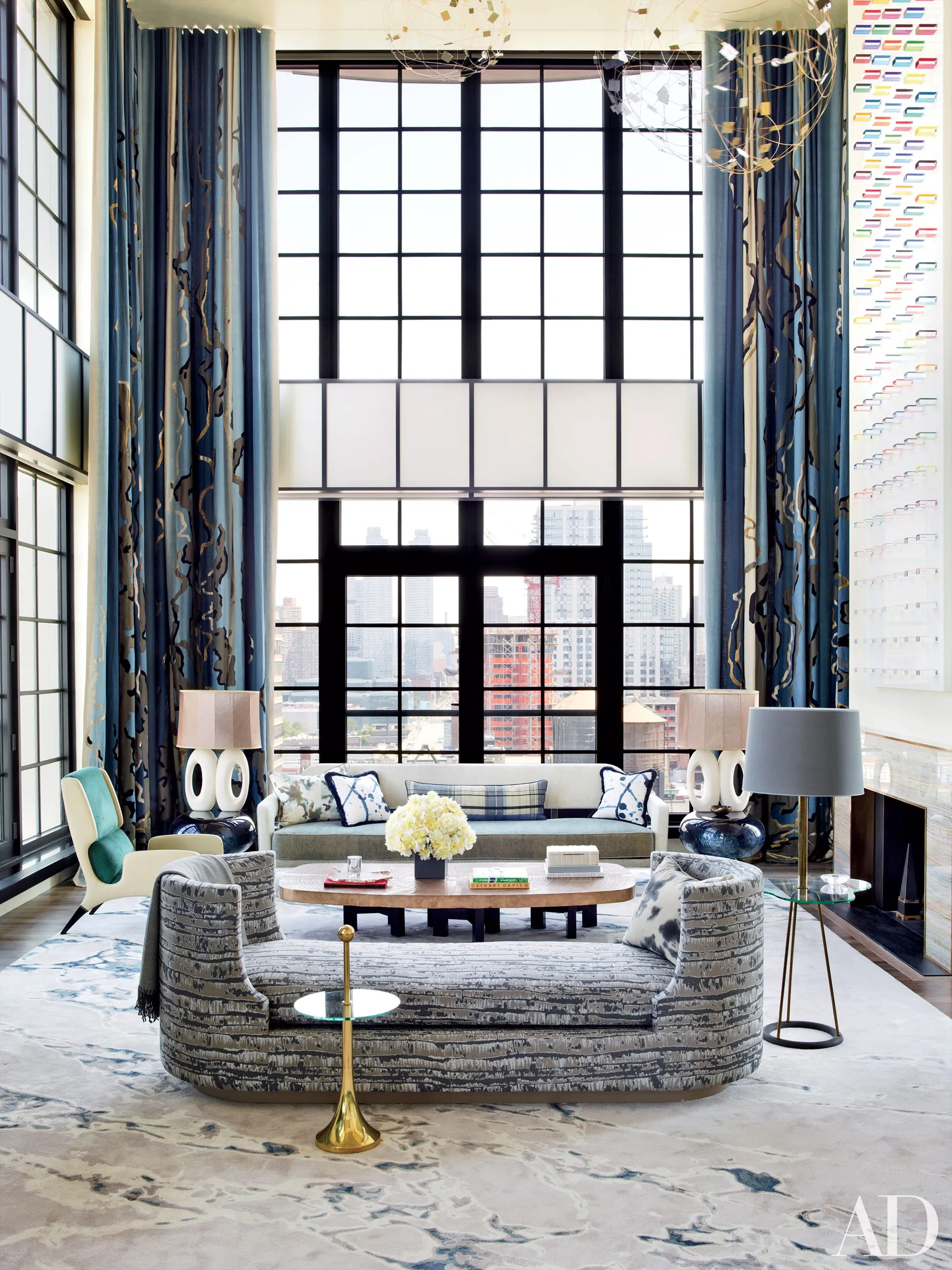 8 Sophisticated Interiors By Jean Louis Deniot Inc Photos Architectural Digest