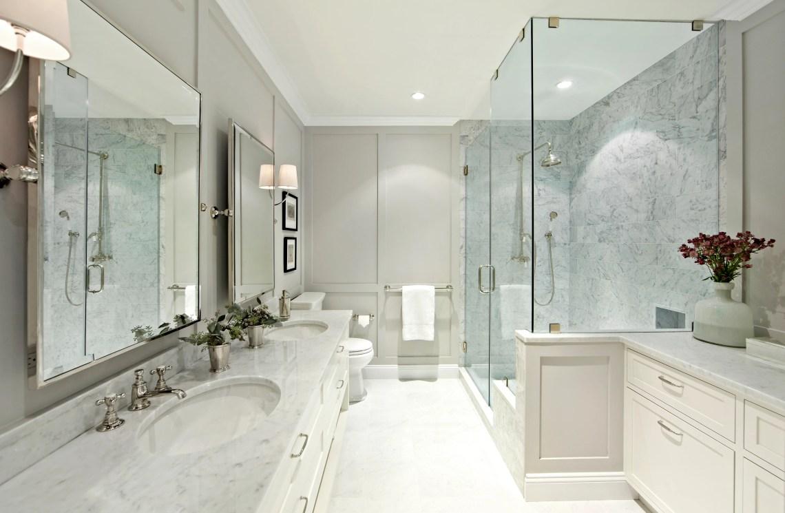 Best Bathroom Makeovers Before After Bathroom Remodels Architectural Digest